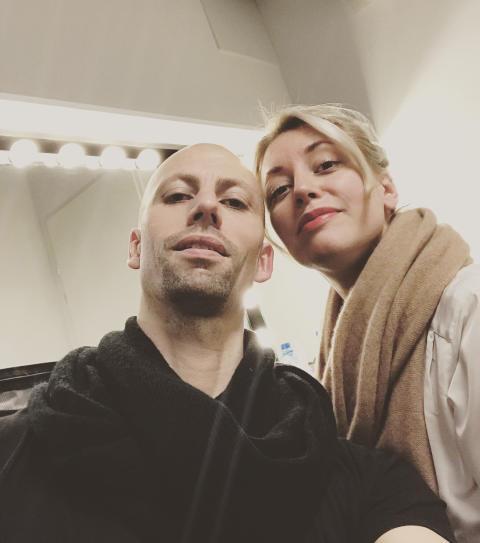 Peder Nilsson och Madeleine Månsson 2019