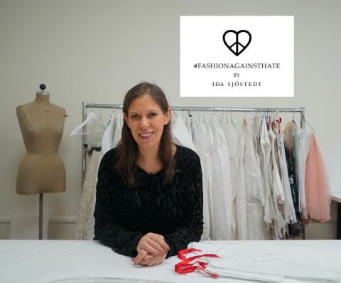 Modedesignern Ida Sjöstedt släpper exklusiv kollektion mot näthat tillsammans med Telia