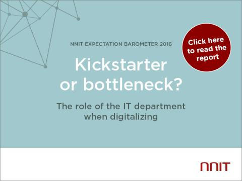 Kickstarter or bottleneck? The role of the IT department when digitalizing