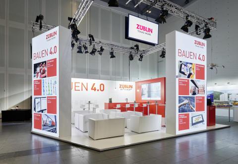 ZÜBLIN-Stand, Deutscher Bautechniktag 2017