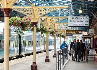 Improvements on track for historic Shropshire railway station thanks to West Midlands Railway grant
