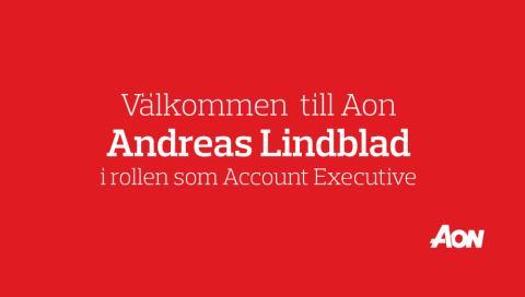 Aon välkomnar Andreas Lindblad som ny Account Executive