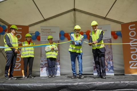 Nouryon firade invigning av produktionsanläggning i Sundsvall