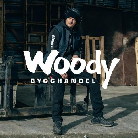 DePalma Workwear i samarbete med Woody Bygghandel