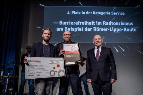 Römer-Lippe-Route gewinnt den Deutschen Fahrradpreis