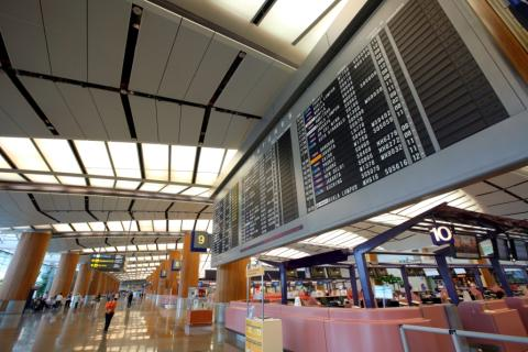 Terminal 2 prepares to handle more passengers