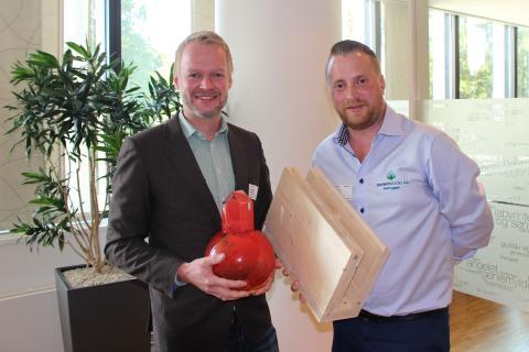 Henning Thorsen og Erland Lundby
