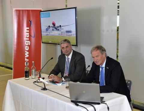 Björn Kjos ja Stewart Wingate