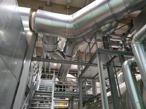 Noch sicherer und effizienter umweltschonende Energie und Wärme: Energieservice Westfalen Weser modernisiert Heizkraftwerk Minden