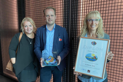 Lindabs SolarRoof vinder Byggeriets Energipris 2020