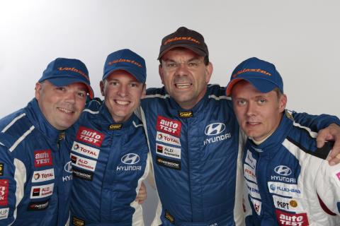Hyundais 24-timers Nürburgring team