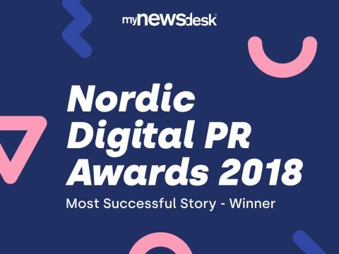 Wimab Evenemang vann Nordic Digital PR Awards