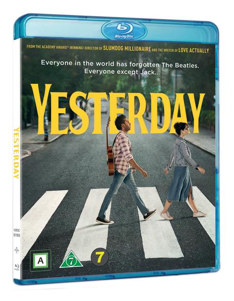 Yesterday, Blu-ray