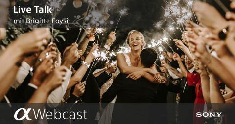 Sony Pro Photographer Live Talks - Brigitte Foysi – «Hochzeitsfotografie»