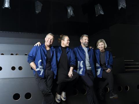 Teamet i BIG BIO, Morten Hedegaard, Marie Engberg, Henrik Obel, Louise Obel