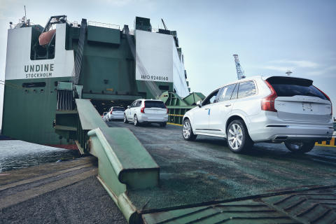 Rise in freight volumes at the Port of Gothenburg