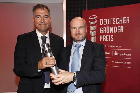 Herzlichen Glückwunsch an German Bionic Systems!  Kunde der Stadtsparkasse München erhält den Deutschen Gründerpreis.