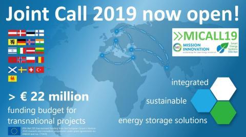 22 mio. € til integrerede energilagringsløsninger