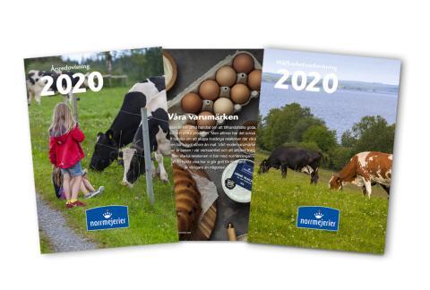 Norrmejerier avslutar året 2020 med ökad mjölkinvägning och starka finanser