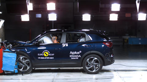 35-star haul for diverse group of cars in latest Euro NCAP testing