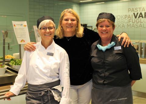 Cathrine, Lene og Anita