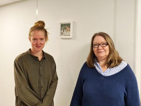 To nye prosjektledere for områdeløft Vestli