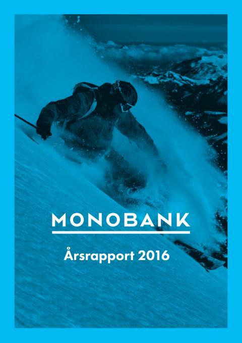 MONOBANK Årsrapport 2016