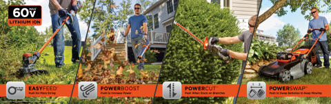 BLACK+DECKER™ Announces 60V MAX* Outdoor Products