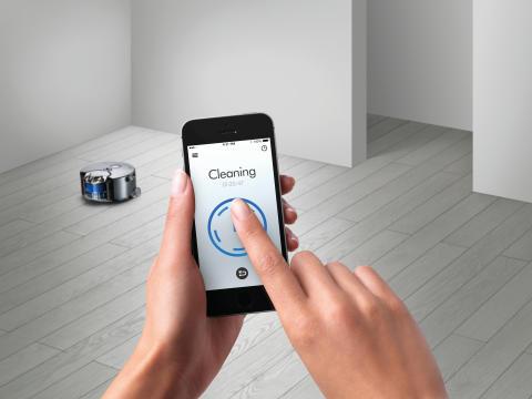 Dyson 360 Eye Saugroboter App
