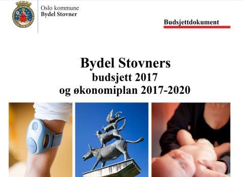 Budsjett 2017 for Bydel Stovner