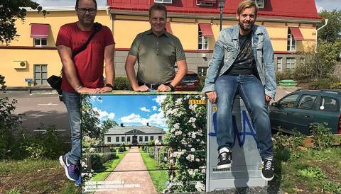 Elvira, Mattias, Christer och Håkan vinnare av #mittelskåp 2018