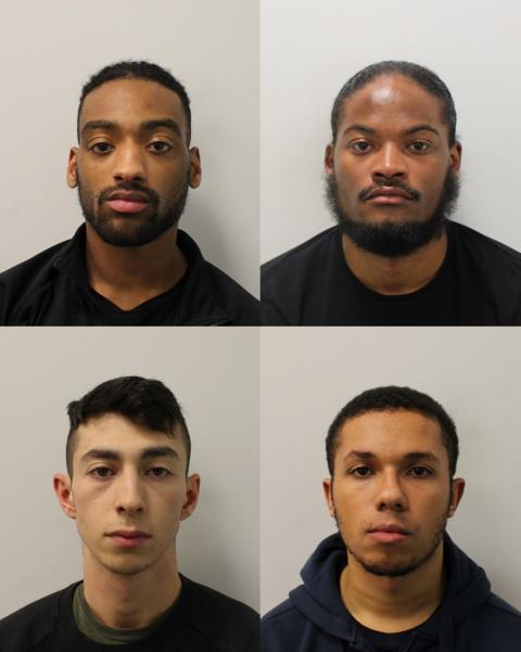 Two men guilty of armed robberies