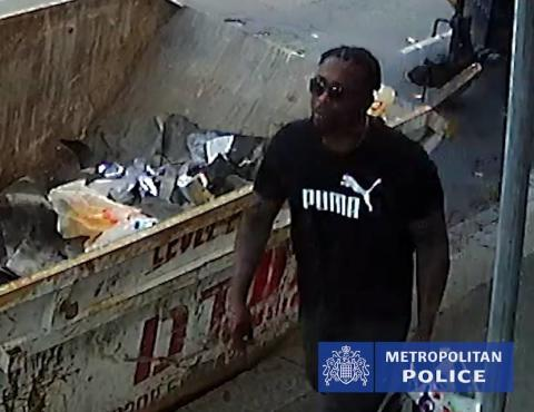 Image of man police would like to identify