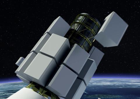 Uppskjutning av de första satelliterna i OneWeb