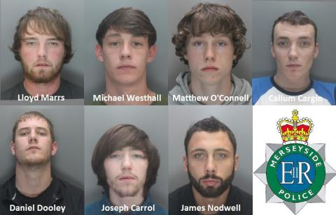 Help us find the remaining wanted faces as part of Knowsley lead 'Operation Kuga'