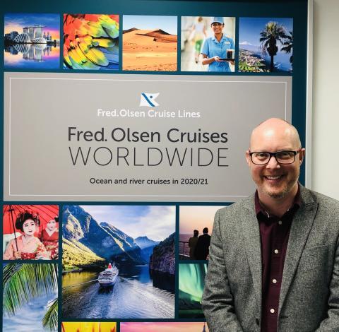 Geoff Ridgeon confirmed as Fred. Olsen Cruise Lines' new Head of Sales
