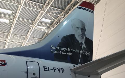 Santiago Ramón y Cajal ya vuela con Norwegian