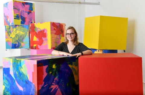 Northumbria University graduate revealed as 2019's Gillian Dickinson North East Young Sculptor winner