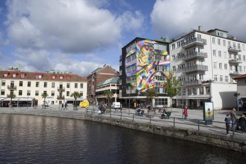 Rekordår för gästnätter i Borås