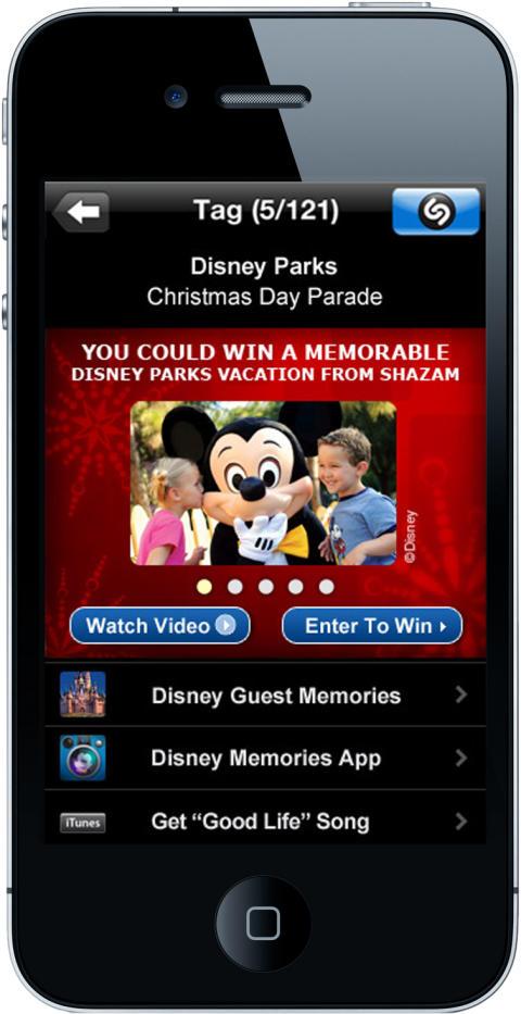Disney Parks Christmas Day Parade Incorporates Shazam for TV