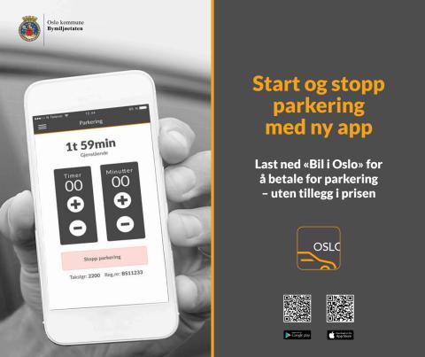 Bil i Oslo-app