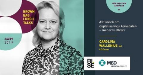 Brown Bag Lunch Talks:  Allt snack om digitalisering i Almedalen - menar vi allvar?