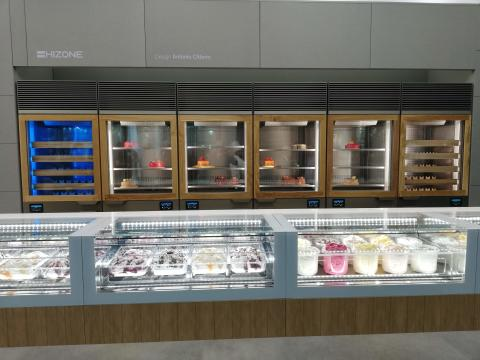 """ISA and Telenor Connexion showcase """"smart"""" gelato displays at Sigep"""