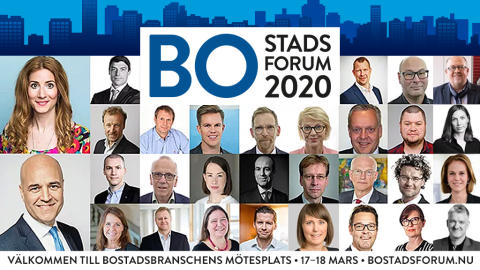 Trygghet i fokus på Bostadsforum 2020
