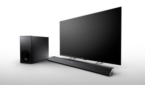 Audio travolgente proprio come al cinema: in arrivo da Sony nuovi e sottilissimi modelli di Sound Bar e Base Speaker per TV