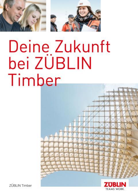 ZÜBLIN Timber: Deine Zukunft bei ZÜBLIN Timber