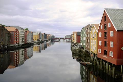 Oppgang i  boligprisene i Trondheim