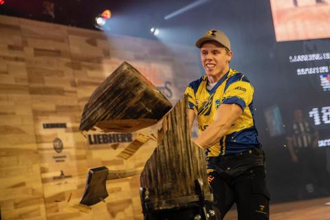 Ferry Svan satte tre personlige rekorder under VM.