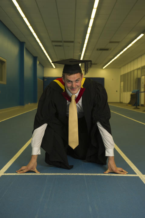 North East athletics star aims for Olympic glory after graduating from Northumbria University