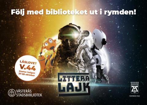 Följ med biblioteket ut i rymden!